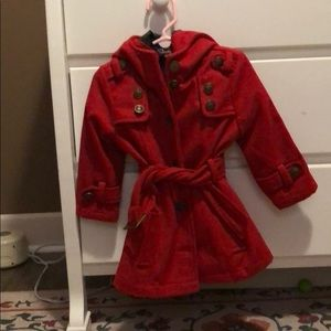 Toddler Red Coat - 2T